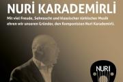 Gedenkkonzert Nuri Karademirli